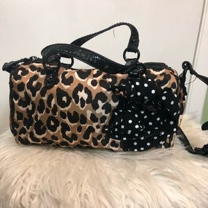 Juicy Couture Leopard Print Mini Bag